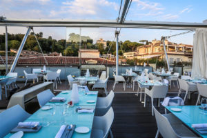 5 trendiest rooftop of rome -hi-ristorante Roma Luxury