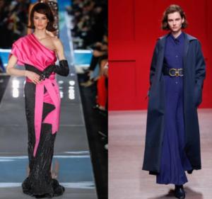 Autumn_Winter_fashion_trends_2018_dresses_Moschino_&_Ferragamo